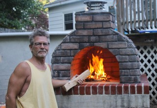 Suns Out - Guns Out! The Large Family DIY Pizza Oven
