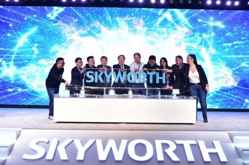 At CES, Skyworth Announces Its Global Launch