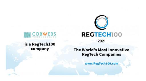 Cobwebs Selected for RegTech100 2021
