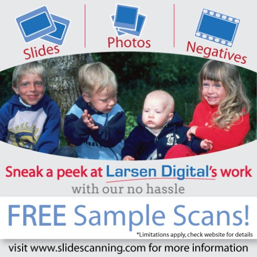 Larsen Digital Offering Free Sample Scans!