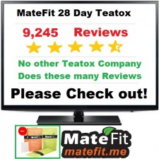 MateFIt Teatox - 28 Day Teatox - 28 Day Tea Detox with 9245 Customer Reviews