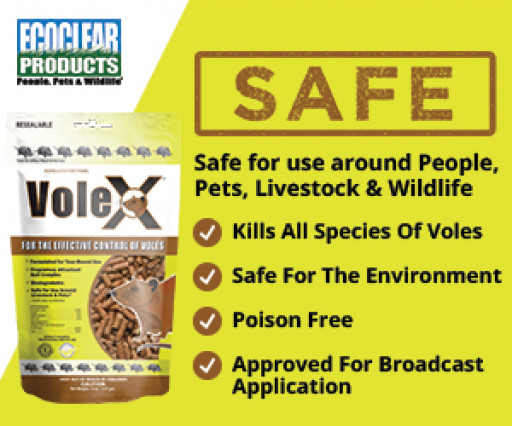 Wilbur-Ellis Signs Distribution Agreement With EcoClear Products for Non-Toxic VoleX™