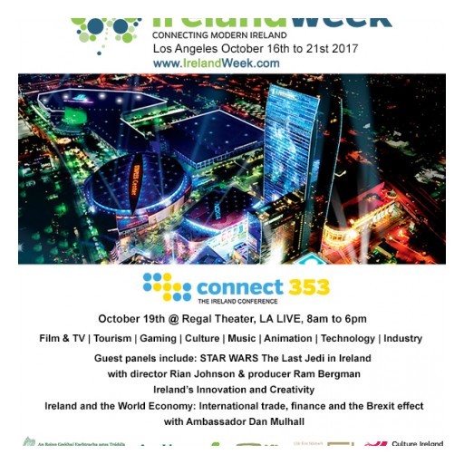 IrelandWeek Announces Panels and Guest Speakers for Its Inaugural connect353 Conference