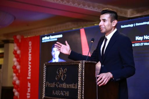 Arthur Lawrence Hosts Taseer Badar in the 'Journey Towards Excellence'