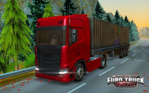 Ovilex Soft's Astonishingly Realistic No-Cost 3D Driving Simulator App 'Euro Truck Driver 2018' Puts Users Behind the Wheel of a European Truck