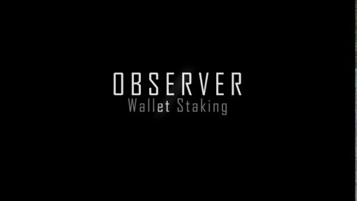OBSR Wallet Enable Staking Mode