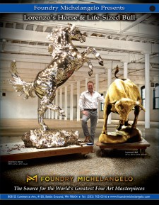 Foundry Michelangelo Presents: Lorenzo's Horse and Life-Sized Bull