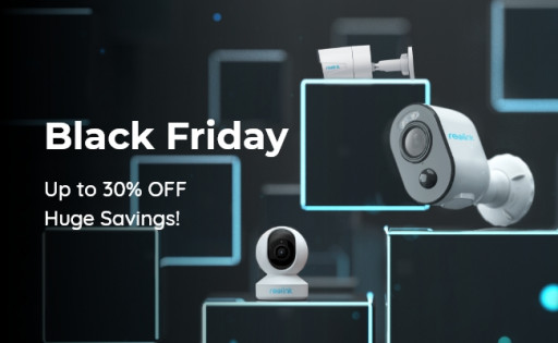 Reolink Launches Black Friday Sale 2020 with Up to 30% Off on Smart Cameras & Systems