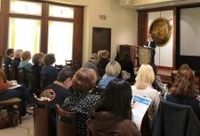 Drug awareness seminar at the Pasadena Church of Scientology focused on marijuana.