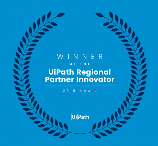 Accelirate Wins UiPath Regional Partner Innovator Award 2018