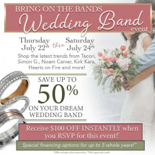 Bring on the Bands Wedding Band Event