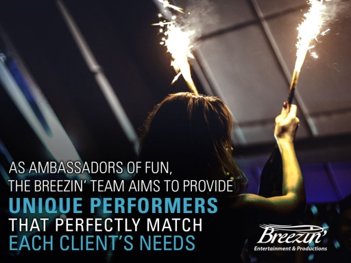 Breezin' Entertainment & Productions Provides Event Entertainment in the Clearwater and St. Pete Area
