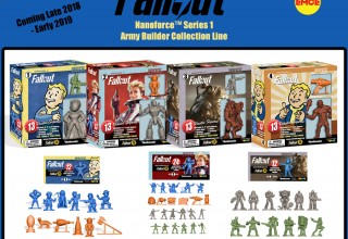 The Fallout Nanoforce™ Series 1 Army Builder Collection