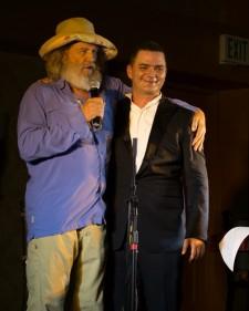 Brian Evans and Academy Award winner Jeff Bridges