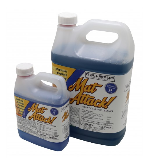 Dollamur's Industry-Leading Sport Surface Cleaner Hits the Market With NEW Trademarked Identity - Mat Attack!