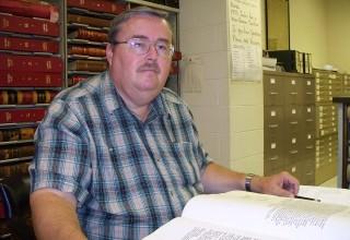 Genealogist Michael Slaughter