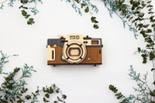 Less Than Three Weeks Left to Purchase Warm Materials Inc.'s Newest Kickstarter Product, Woodsum Pinhole Camera