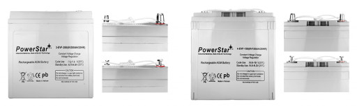 PowerStar 6V and 8V New Electric Vehicle Battery
