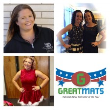2017 Greatmats National Dance Instructor of the Year Leaders
