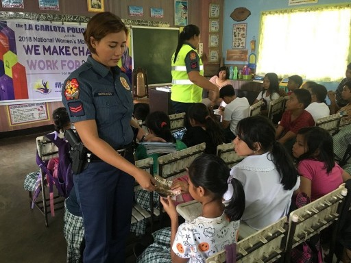 In the Philippines, Police Now Fight Drug Abuse With Education