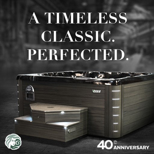 Beachcomber Hot Tubs® Celebrates 40th Anniversary With Limited-Time Anniversary Edition Hot Tub Series