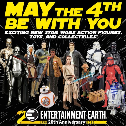 May the 4th Be With You at Entertainment Earth