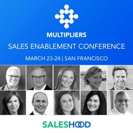 SalesHood Announces the Sixth Annual MULTIPLIERS Sales Enablement Conference