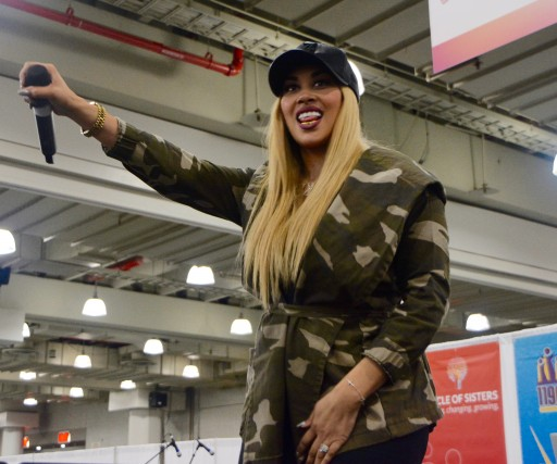 Circle Of Sisters 2016 R&B Artist & Reality Star Keke Wyatt Tells The Audience Why She Has Eight Children
