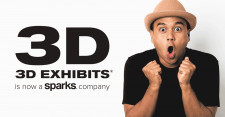 3D Exhibits Now A Sparks Company