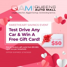 "Queens Auto Mall ""Sweetheart Savings"" Event"