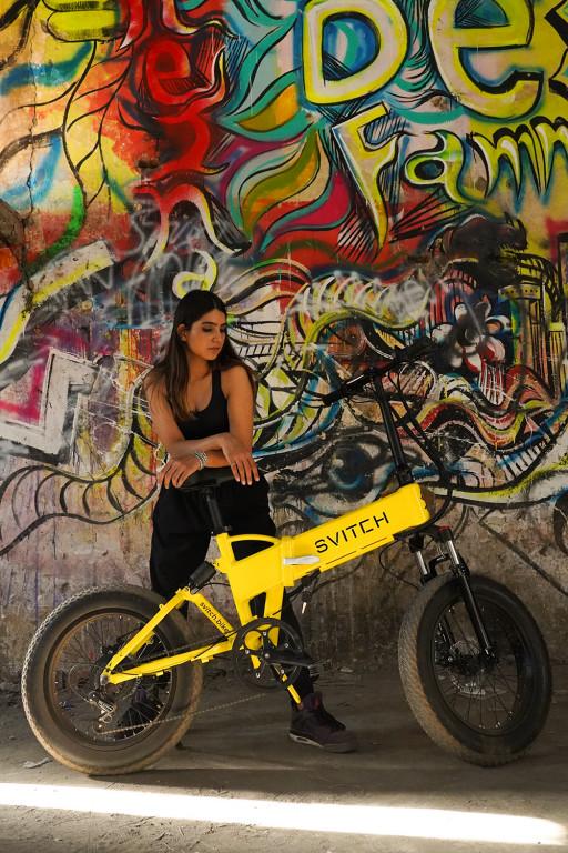 World's Breath-Taking Foldable Electric Bike: Svitch Bikes