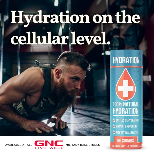 ORAL I.V. 2 Ounce Rapid Hydration Activator Shot Launches in 120 Military-Based GNC Stores