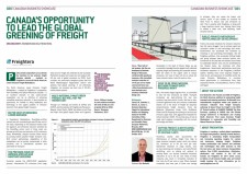 Canada's Opportunity to Lead the Global Greening of Freight