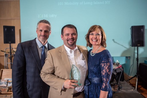 John Michielini presented with 101 Mobility's Community Service Award