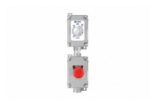 Larson Electronics Releases Explosion-Proof Timer Switch With 30-Min Timer and E-Stop, 120-277V