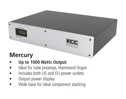 Precision Voltage and Frequency Converter Delivers Clean Power Anywhere