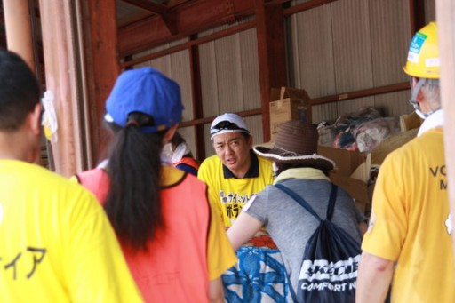 Volunteer Ministers Bring Relief to Okayama Flood Victims