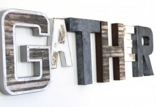 Modern Farmhouse Gather Sign