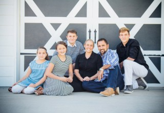 Nelson and Family, Owners of Colorado Shed Company