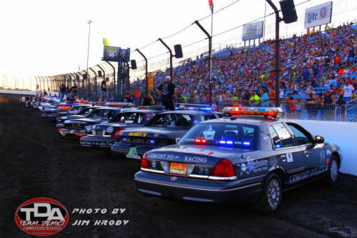 Police Officers Compete in Fourth Annual 'Five O at the Dirty O' — Dirt Oval 66