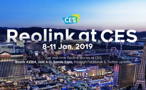 Reolink to Showcase Cutting-Edge 4G LTE Camera and Innovative Wire-Free Smart Cameras at CES 2019