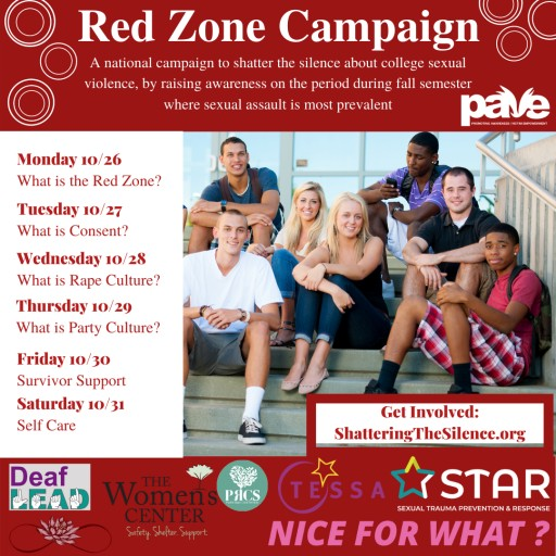 PAVE Launches Initiative Changing College Campus Culture: The Red Zone Campaign