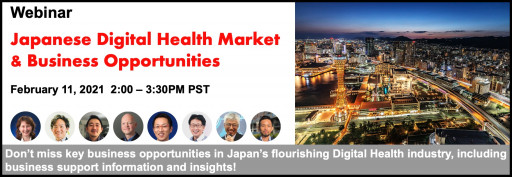 Japanese Digital Health Market & Business Opportunities Webinar to Be Held February 11