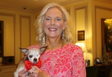 Harley with Debi Boies, founder of Pilots N Paws