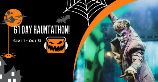 Countdown to Halloween With a 61 Day Hauntathon of Daily Haunted Attraction Podcasts Beginning Sept 1