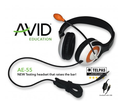 State Education Testing Requirements Made EASY: AVID Releases the AE-55 Headset and Delivers on TELPAS Requirements