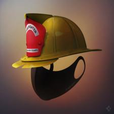 Spigen Donates Air Masks to Orange County Firefighters