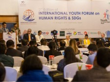 Human rights summit in Nepal