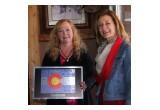 Award presentation for Exceptional Frontline Tourism Worker