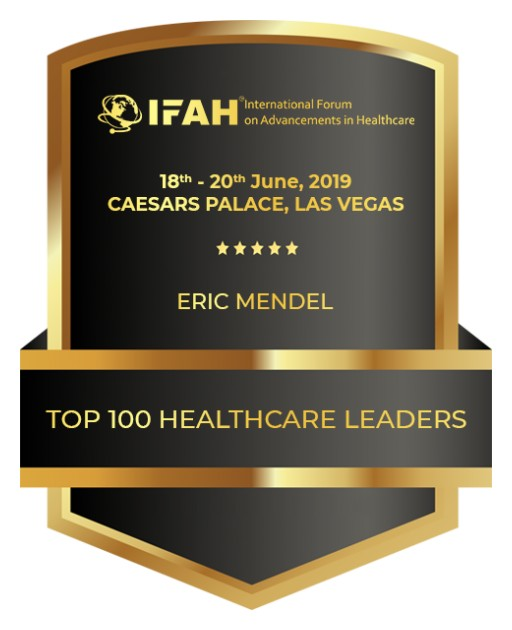 Eric Mendel, CEO, Avenir Healthcare Group, Among Top 100 Healthcare Leaders